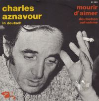 Cover Charles Aznavour - Mourir d'aimer [deutsch]